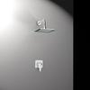 Встраиваемый смеситель для душа с душевым комплектом YPSILON PLUS K6418013 на 1 выход - фото №1