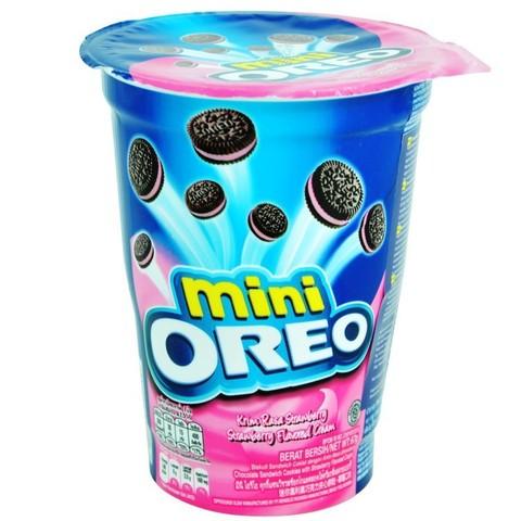 Печенье Oreo Mini (клубничный крем)