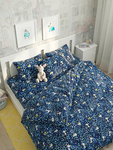 Пододеяльник  -Снупи- 1,5-спальный на молнии 145х215 см
