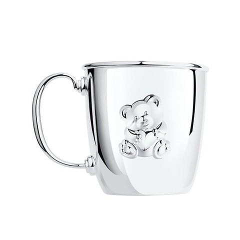2301010033- Кружка из серебра малая «Мишутка»