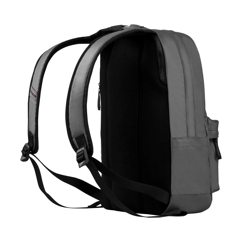 Рюкзак WENGER Photon с водоотталкивающим покрытием, цвет серый, отделение для ноутбука 14