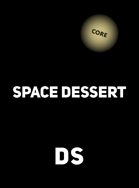 Аксессуар DS CORE SPACE DESSERT 100