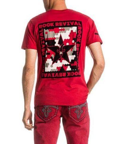Футболка мужская Rock Revival TES4716 RED