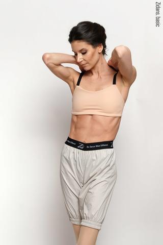 Удлиненные шорты-сауна | серый