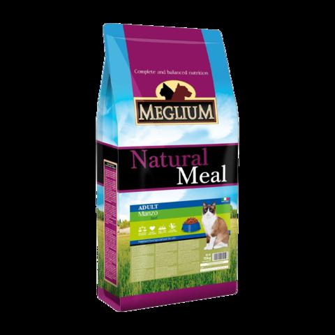Meglium Adult Сухой корм для привередливых кошек с говядиной