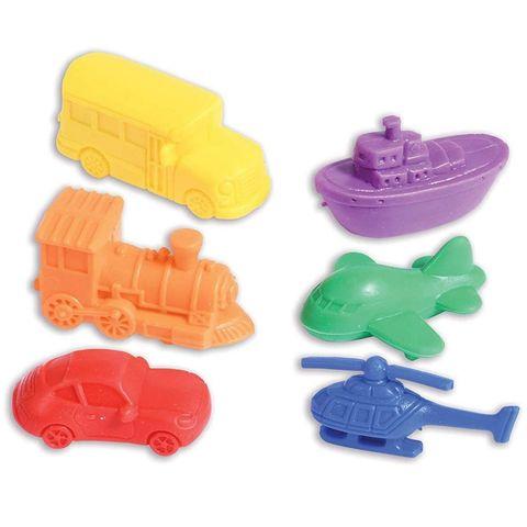 Развивающая игрушка фигурки Транспорт (счетный материал, 6 элементов) Edx education, арт. 13140C