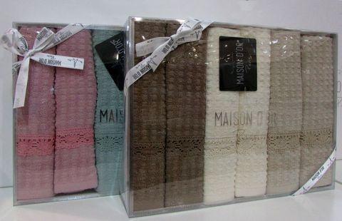 Набор салфеток AUTENTIK  АУТЕНТИК  40х60   Maison Dor (Турция)