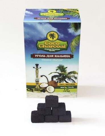 Coco Charcoal 1 кг 112 кубиков
