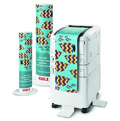 Цветной принтер OKI C834DNW