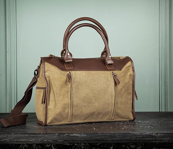 BAG501-2 Мужская сумка из ткани для ручной клади фото 02