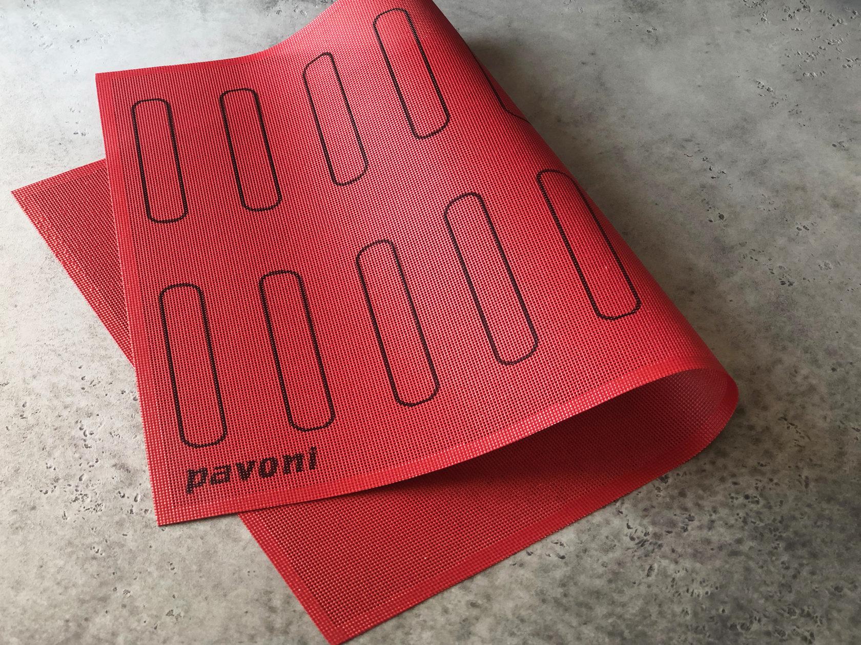 Коврик силиконовый «Эклер» с разметкой Pavoni, 60х40 см