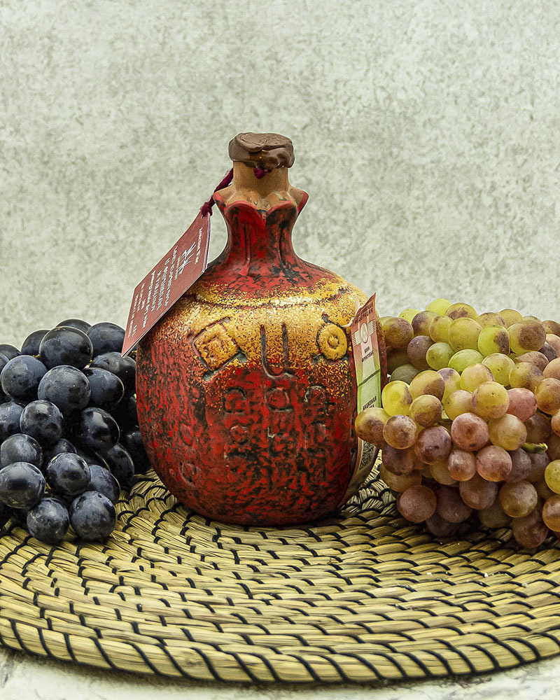 Вино Maran Winery М.Параджанов Фруктовое Гранатовое Сухое в Кувшине 2018 г.у. 12,5 % 0,5 л.