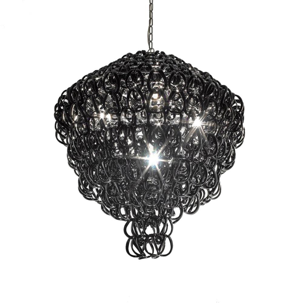 Подвесной светильник Giogali SP 80 A by Vistosi (черный)