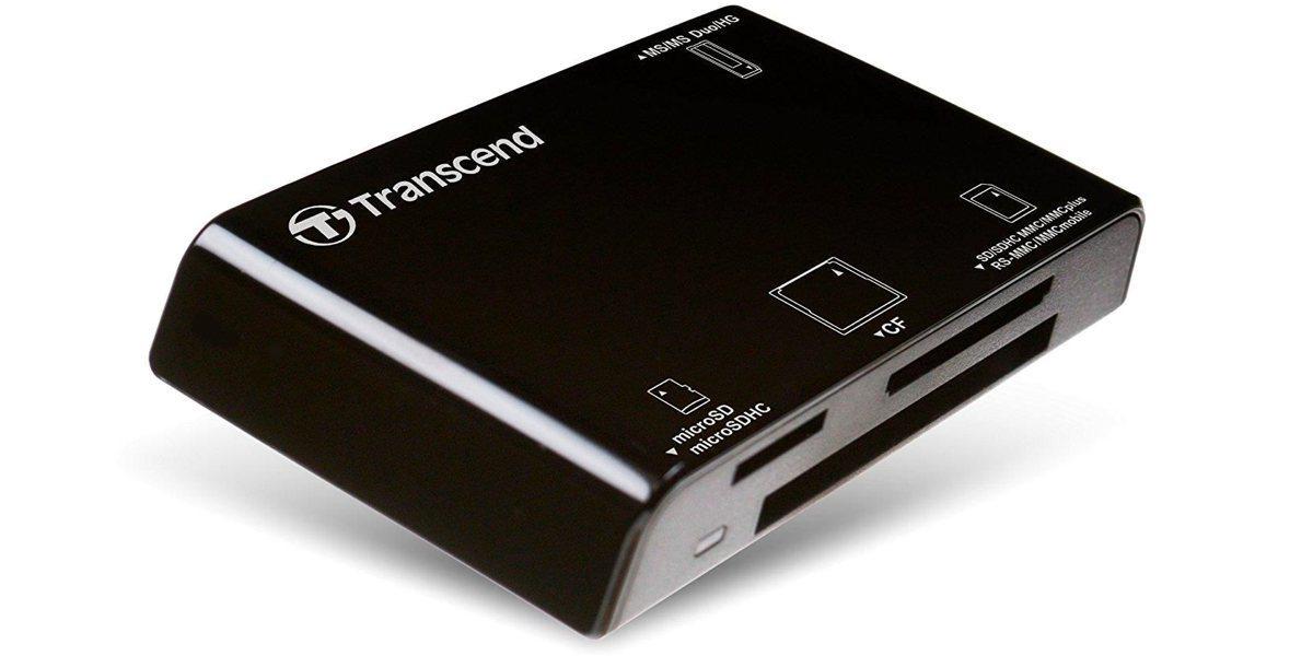 Устройство чтения/записи флеш карт Transcend RDC8, all-in-1, USB 3.1