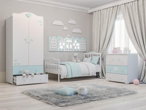 дизайн комнаты с представленной мебелью