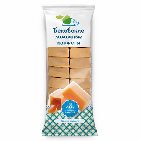 Бековские молочные конфеты «Крувка» 350 г