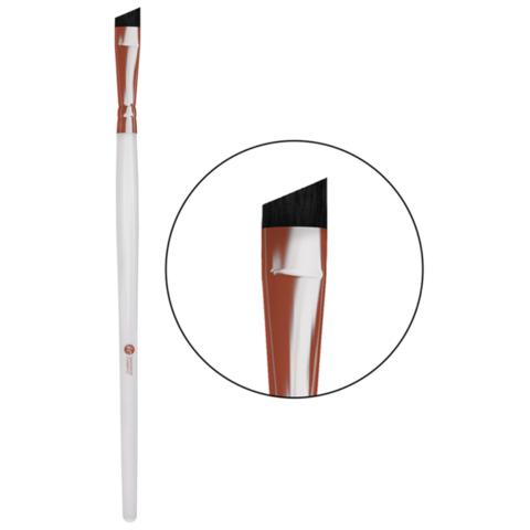Кисть скошенная для окрашивания бровей (классическая) - Innovator Cosmetics