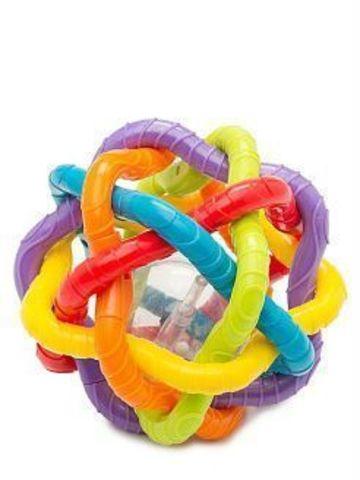 Playgro. Развивающая мячик-погремушка Бенди-балл, 6м+