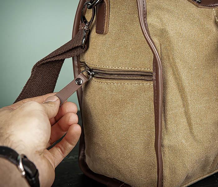BAG501-2 Мужская сумка из ткани для ручной клади фото 04