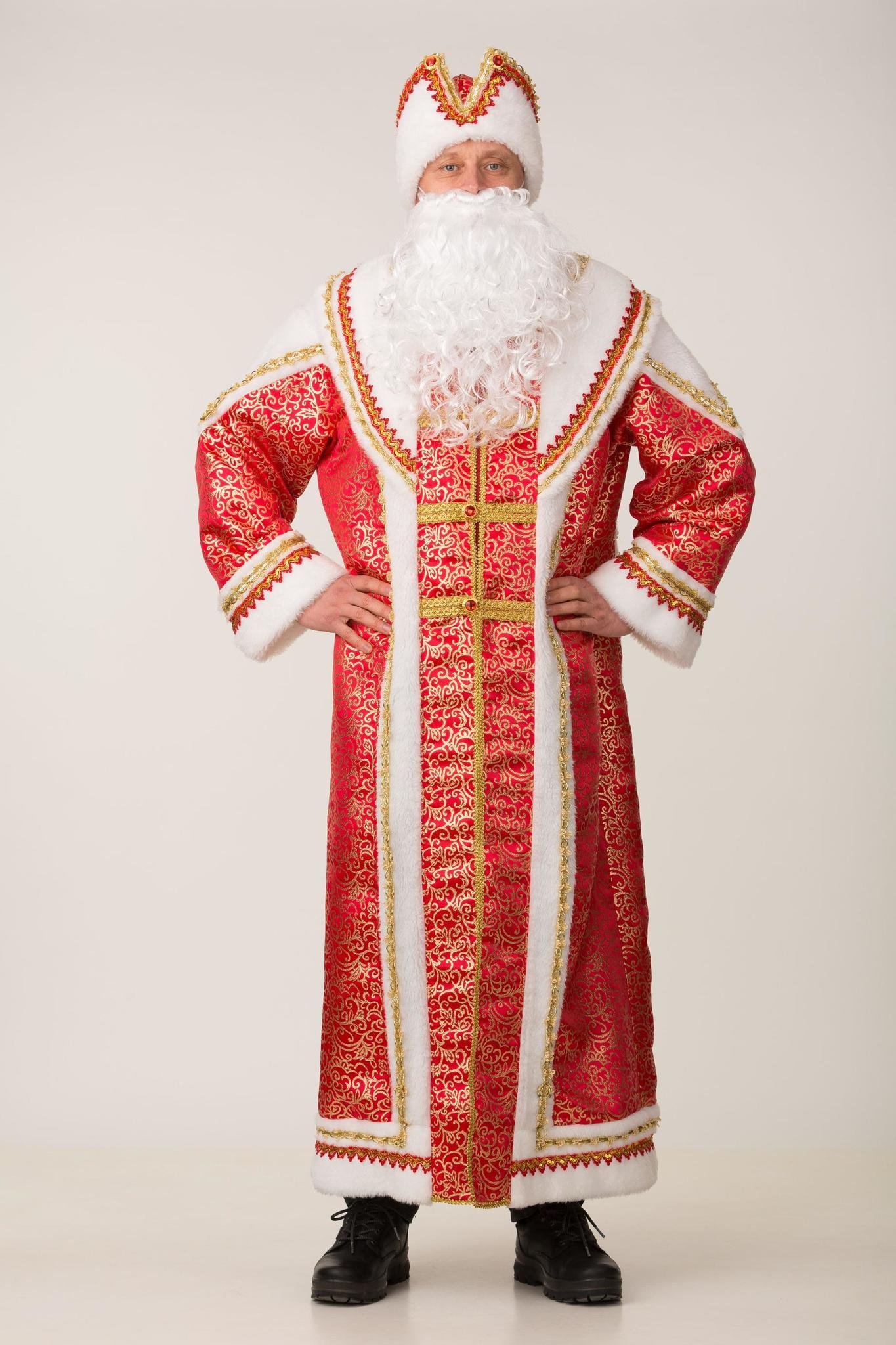 Костюм Дед Мороз Боярский взрослый