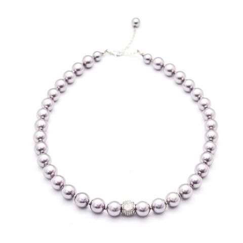 Жемчужное ожерелье с слогом OM