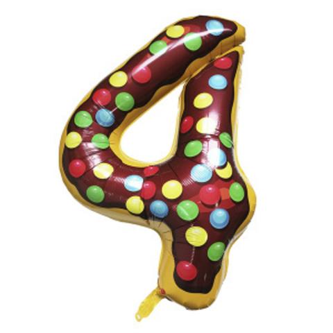 Y Фигура Цифра 4 Пончик 40