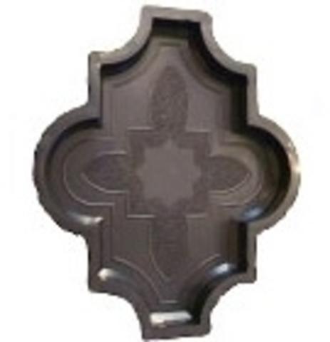 Форма д/брусчатки Клевер узорчатый 267х218х45