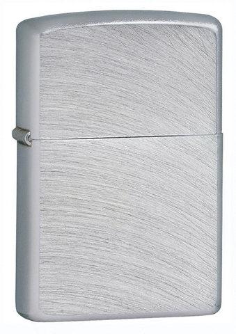 Зажигалка Zippo с покрытием Chrome Arch, латунь/сталь, серебристая, матовая, 36x12x56 мм123