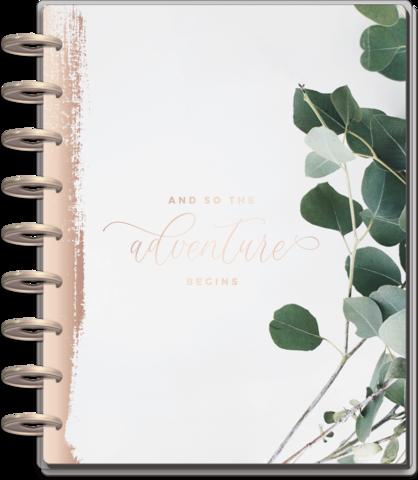Ежедневник для планирования свадебных мероприятий Classic Happy Planner® - Wedding Adventure-  19,5х24,5см