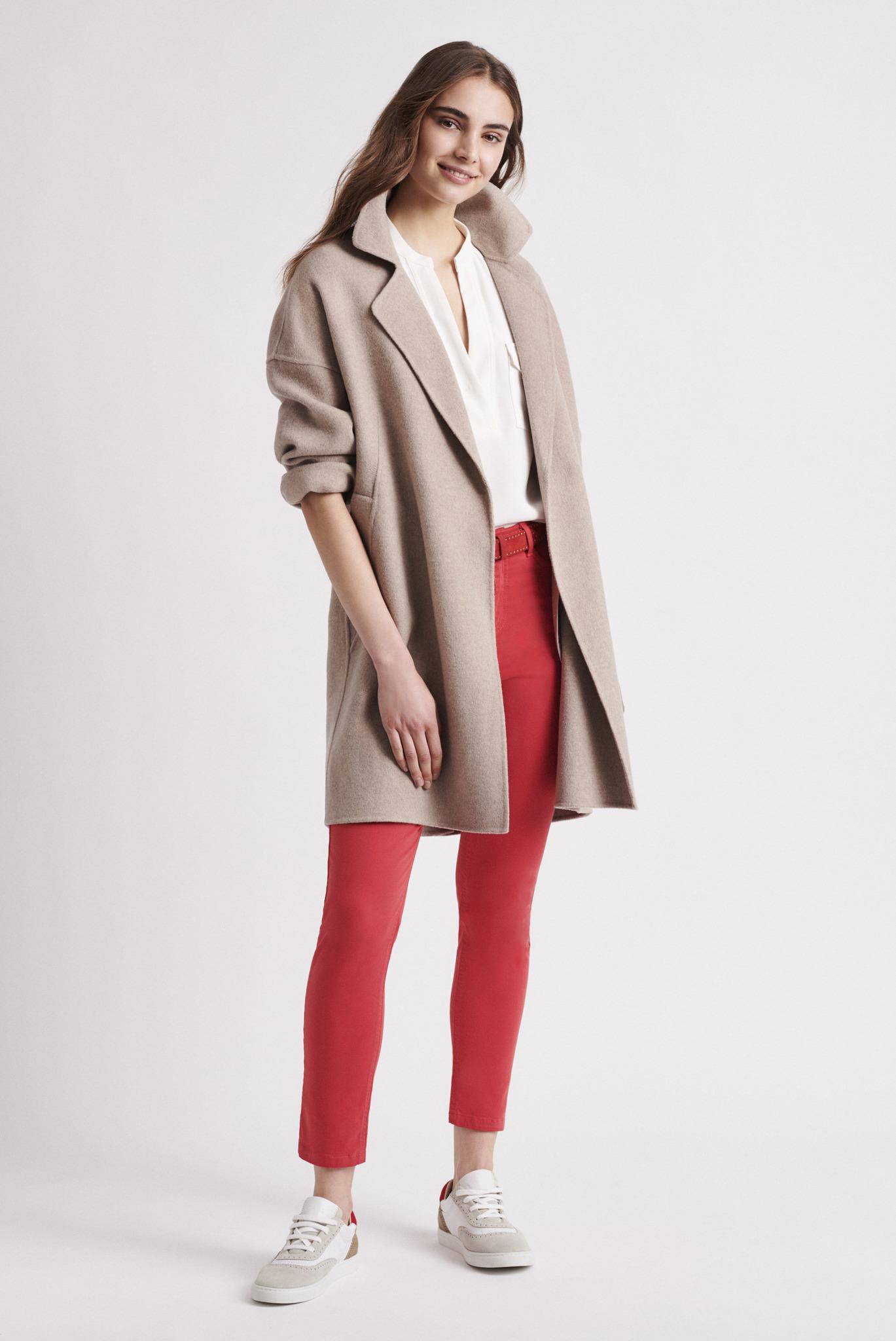 RACHEL -  двойное шерстяное пальто