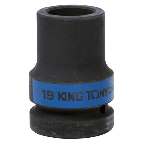 KING TONY (853419M) Головка торцевая глубокая ударная четырехгранная 1