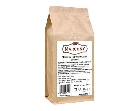 купить Кофе в зернах Marcony Espresso Intenso, 1 кг