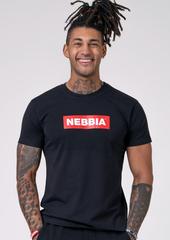Мужская футболка Nebbia Men`s T-Shirt 593 Black