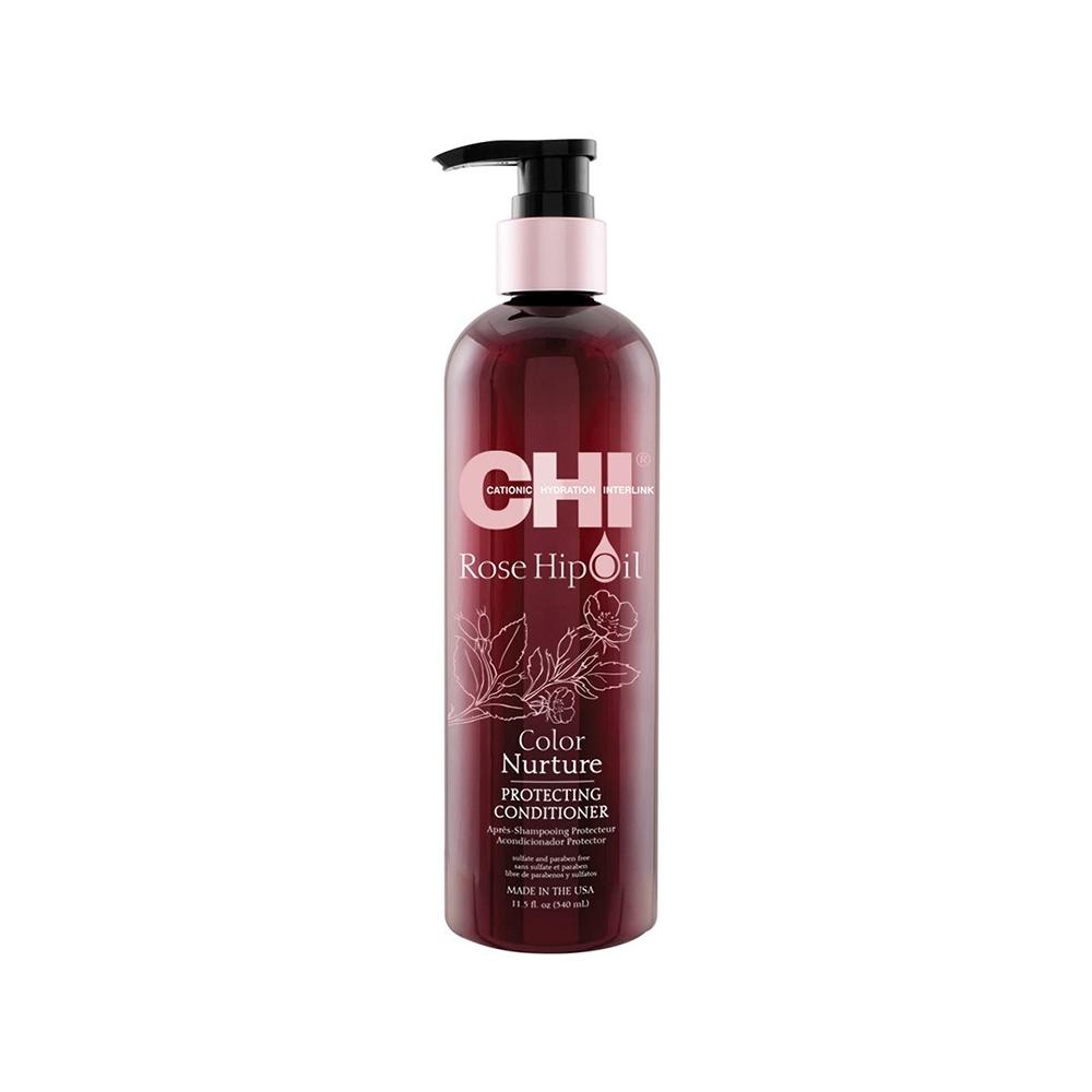 Кондиционер для окрашенных волос с маслом розы