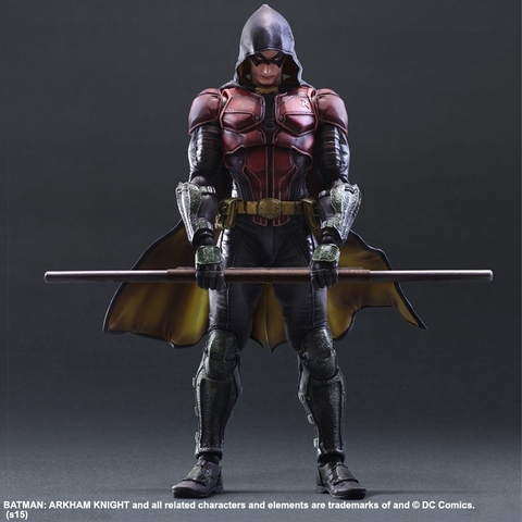 Бэтмен Рыцарь Аркхема фигурка Робин (копия) — Batman Arkham Knight Robin Play Arts Kai (copy)