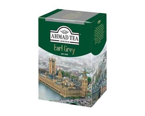 Чай черный листовой Ahmad Tea Earl Grey , 200 г