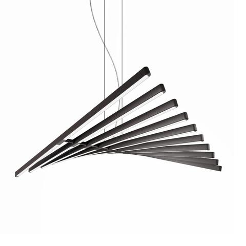 Подвесной светильник Rhythm by Vibia L97 (черный)