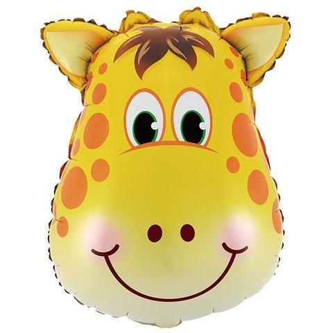 Шар фигура Голова жирафа, 64 см