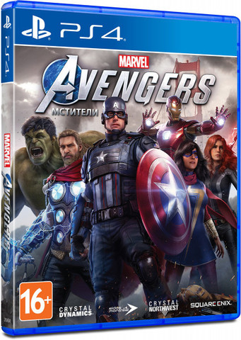 Мстители Marvel (PS4, русская версия)
