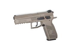 Пневматический пистолет CZ P-09 пулевой - FULL FDE