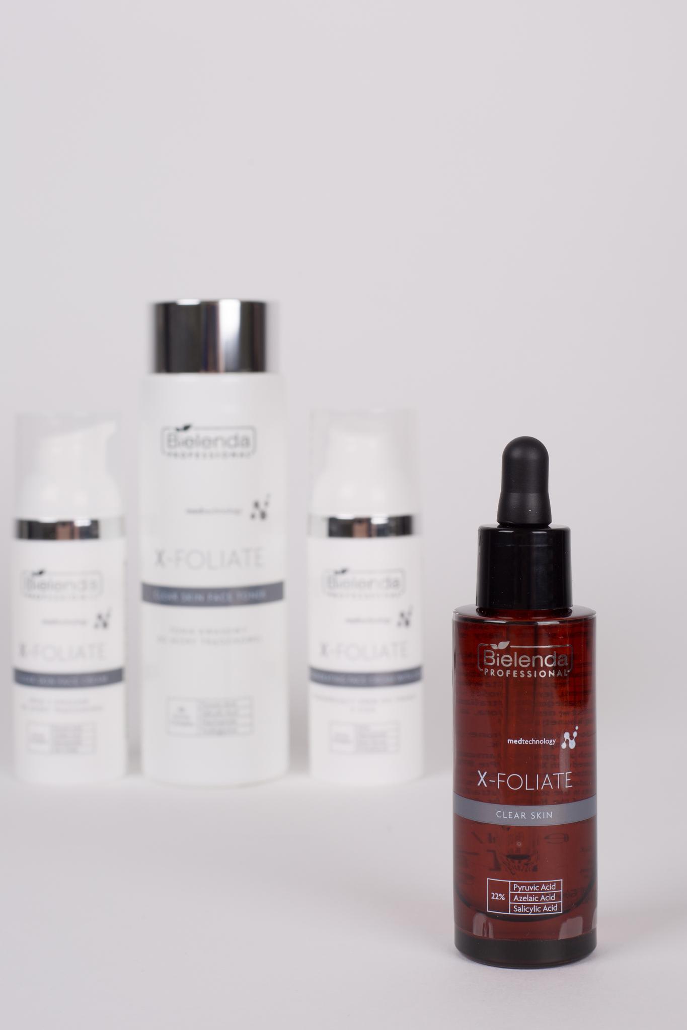 X-FOLIATE Clear Skin Крем для лица с кислотами для жирной кожи, склонной к акне, 50мл.
