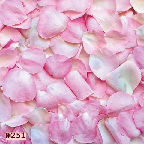 Фотофон виниловый «Лепестки роз» №251