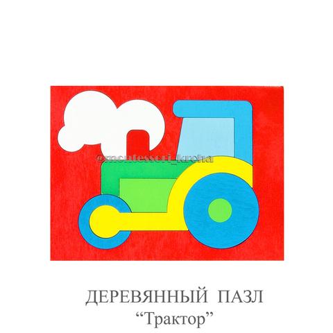 ДЕРЕВЯННЫЕ ПАЗЛЫ «Трактор»