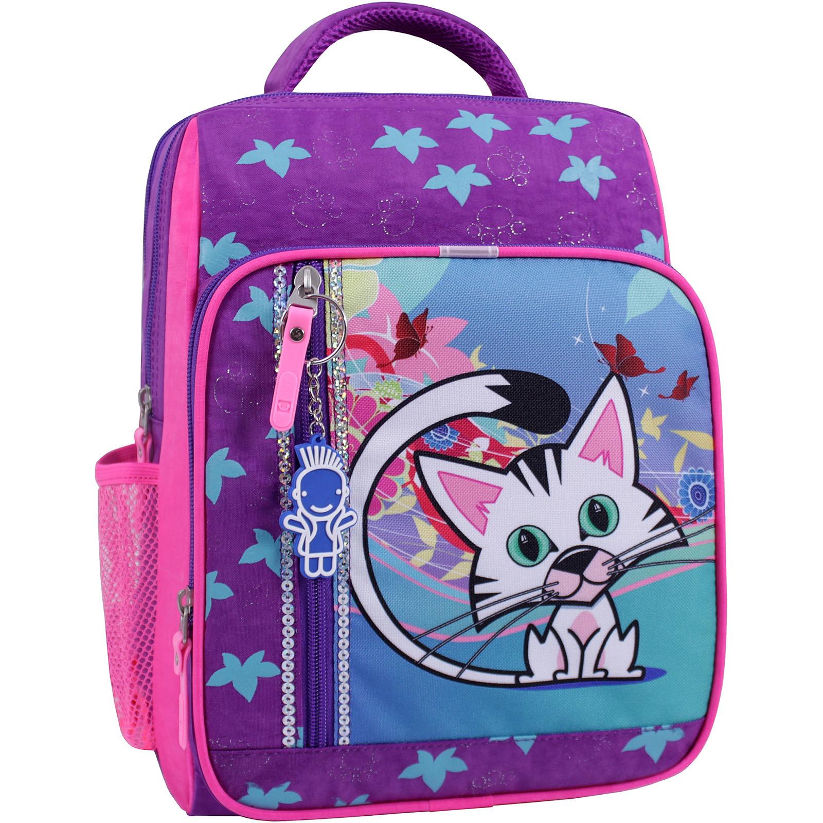 Рюкзак школьный Bagland Школьник 8 л. фиолетовый 502 (0012870) фото 1