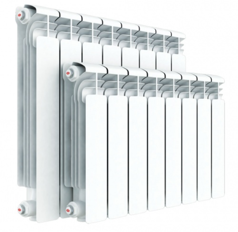 Алюминиевый радиатор Rifar Gekon - 500/90/10