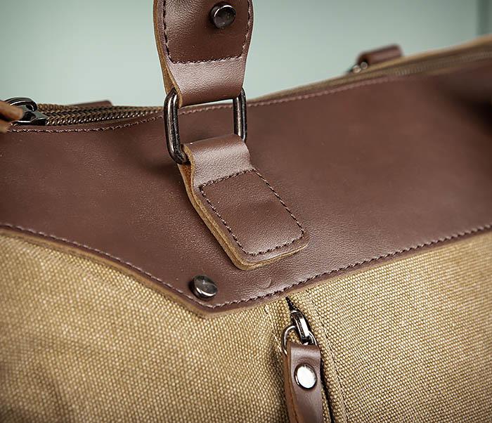 BAG501-2 Мужская сумка из ткани для ручной клади фото 05