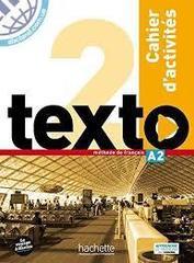 Texto 2 cahier d'activites + DVD-ROM