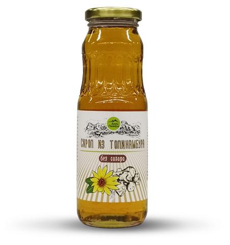 Сироп из Топинамбура натуральный, без сахара, стекло 330 г