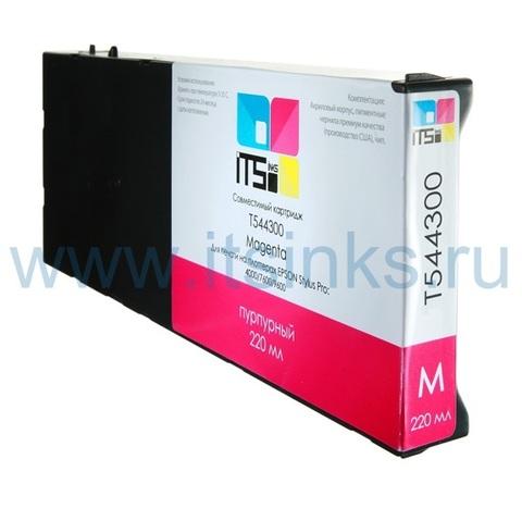 Картридж для Epson 4000/7600/9600 C13T544300 Magenta 220 мл