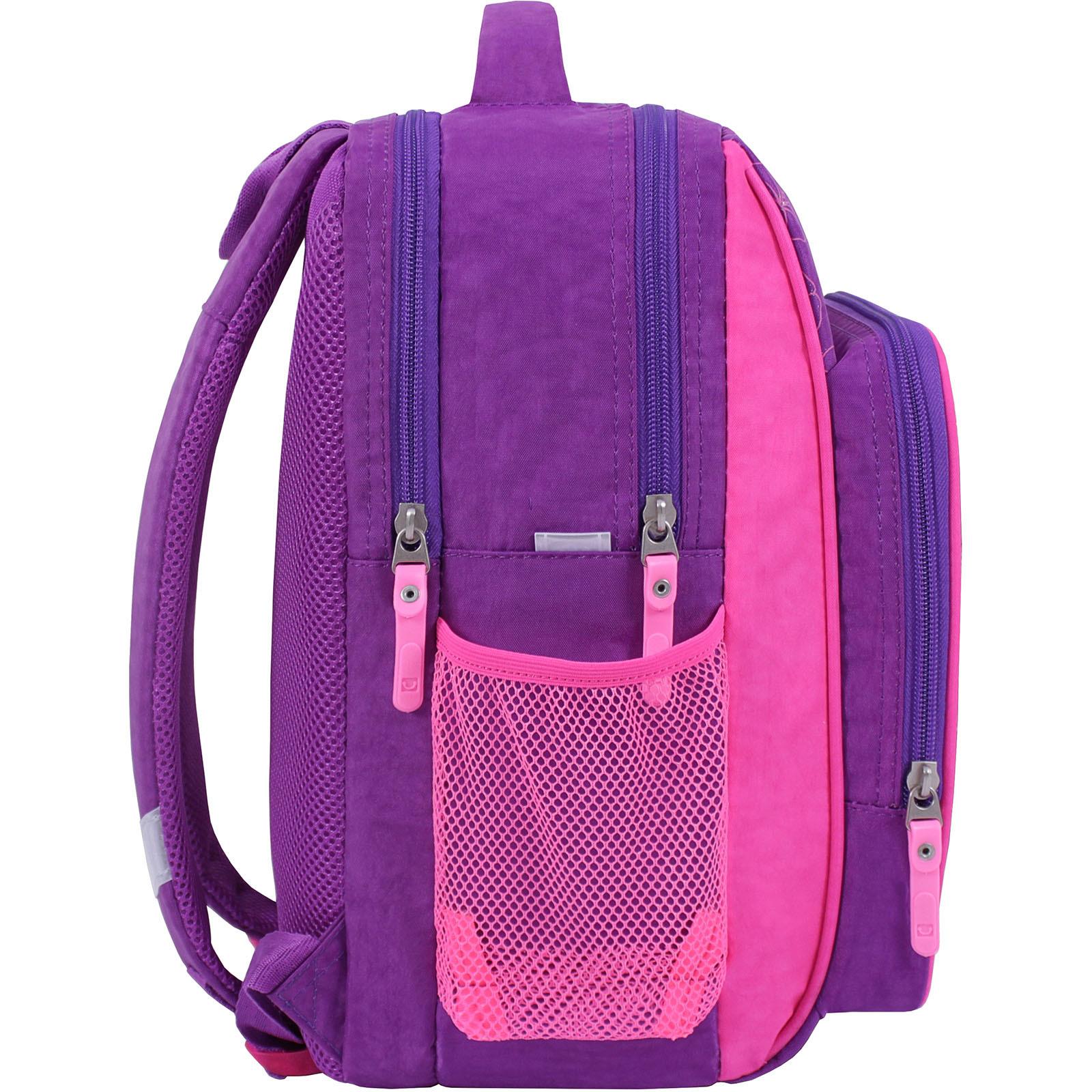 Рюкзак школьный Bagland Школьник 8 л. фиолетовый 502 (0012870) фото 2